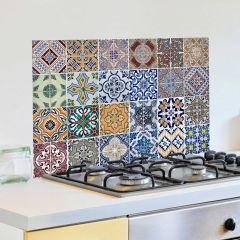 Wandaufkleber Fliesen Rückwand Küche - multi