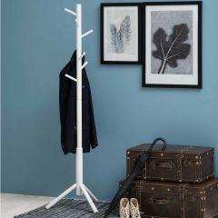 Bremen coat hanger - white