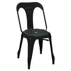 Stuhl Industrie - schwarz