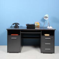 Schreibtisch Beagle 145cm - anthrazit