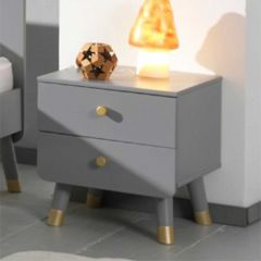 BILLY NIGHTSTAND TIMELESS GREY *