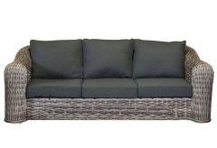 Davinci wicker 3-seater sofa