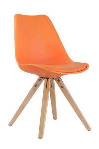 Set mit 2 Stühlen Lady - orange
