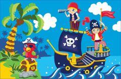 Teppich Boys - Piraten