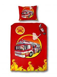 Bettbezug Feuerwehrauto