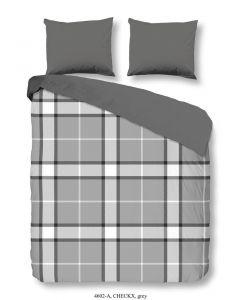 Bettwäsche Checkx Grey 40x220cm