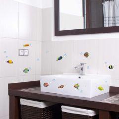 Aufkleber Bunte Fische