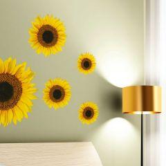 Wandaufkleber Sonnenblumen
