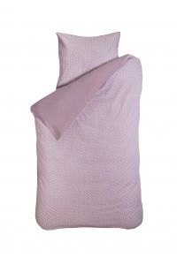Bettbezug Dots rosa