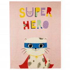 Teppich Superheld Katze