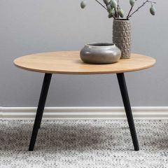 Stafford coffee table - black, ash