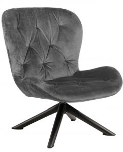 Batilda - A1 resting chair - matt black, dark grey