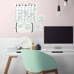 Wandaufkleber Trockenlöschkalender