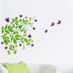 Wandsticker Blätter & Blumen
