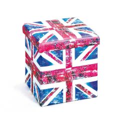 Faltbarer Hocker Setti - Union Jack