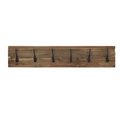 Garderobenständer Railwood - Teakholz natur