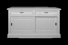 Sideboard Provence - 150 cm - weiß