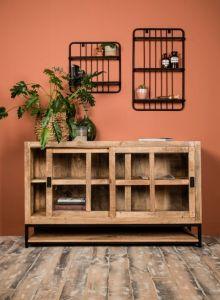 Sideboard Byron - 150 cm - Mangoholz / Eisen