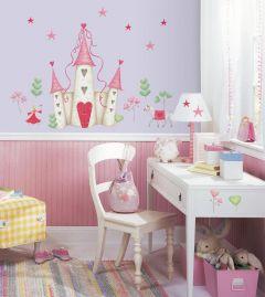 RoomMates Wandsticker - Prinzessin Burg