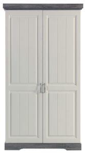 Kleiderschrank Yves - 2 Türen