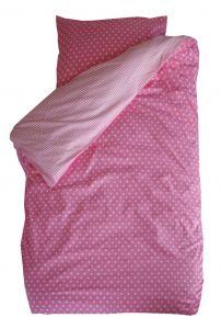 Bettbezug Little Star - rosa