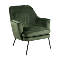 Chisa resting chair - black, forest green