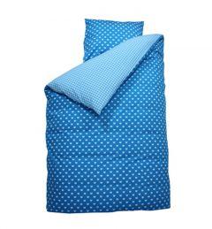 Junior Bettbezug 120x150 - Herz Aqua