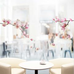 Fensteraufkleber Magnolia