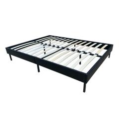 Doppelbett Bami 140 x 200cm - schwarz