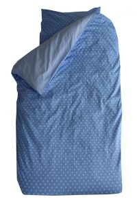 Bettbezug Little Star - blau