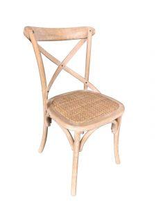 Set mit 2 Stühlen Erdo - braun
