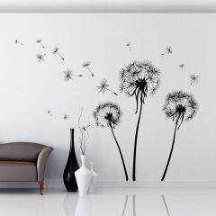 Riesen-Wandaufkleber Dandelions