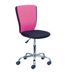 Bürostuhl CC - schwarz/rosa