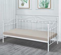 Einzelbett Amélie - weiß