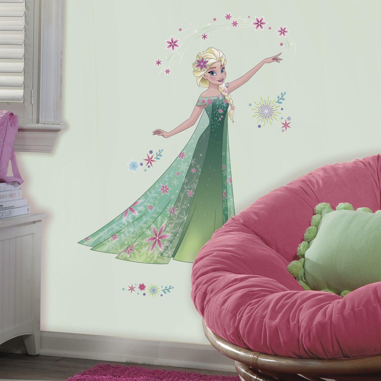 Roommates Wandtattoo Die Eiskonigin Elsa Roommates Emob