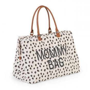 Mommy Bag Canvas Leopard