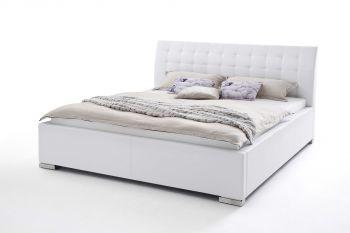 Gestoffeerd bed ISA Comfort - 180x200 cm - Wit