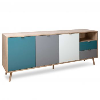 Sideboard Kuba 3 Türen & 2 Schubladen