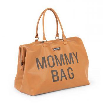 Mommy Bag Leatherlook Braun