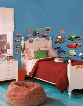 Roommates Wandsticker - Cars Piston Cup