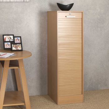 Rolltorschrank William 138cm - Eiche
