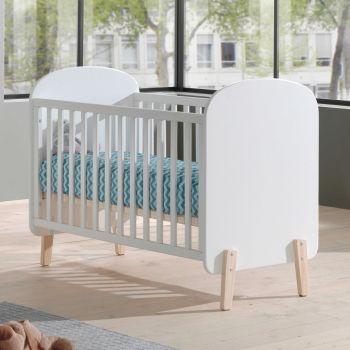 Babybett Kiddy 60x120 - weiß