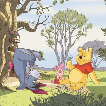 Leinwandbild Winnie the Pooh & Eeyore