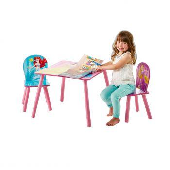 Kindertisch mit Stühlen - Disney Prinzessinnen