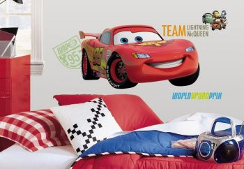 Roommates Wandtattoo - Cars 2 Lighning McQueen