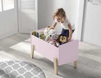 Kiddy Spielzeugkiste - rosa
