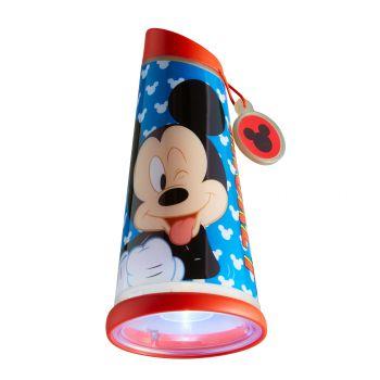 Nacht- und Taschenlampe Mickey Mouse