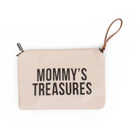 Mommy Clutch - cremefarben