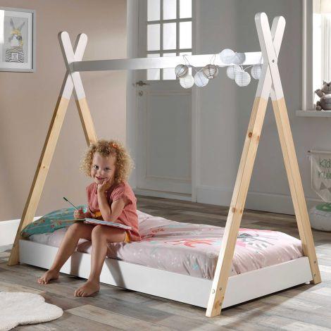 Tipi-Bett für Kleinkinder 70x140