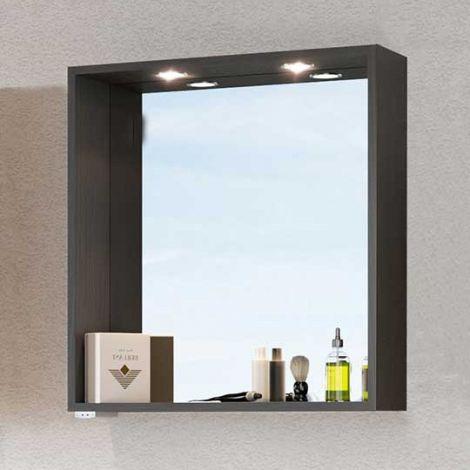 Spiegel Dasa 60cm - graphitgrau